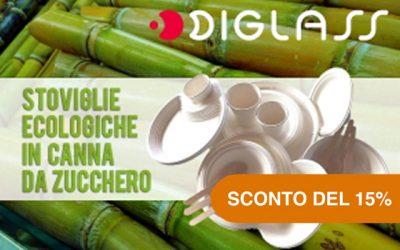 Diglass – Piatti biodegradabili
